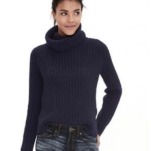 Banana Republic Alpaca blend turtleneck Black XS